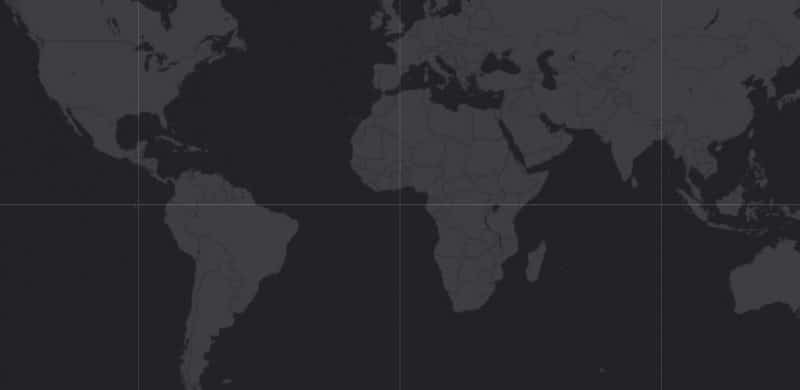 Mapa de rango geográfico para el Sábalo